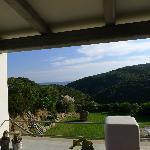 tancamelis breakfast veranda view