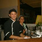 Two of our wonderful chefs, Dennis & Dinia