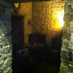 "The ""Dungeon"" great private place to drink/dine"