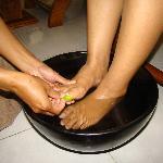 Traditional footh bath