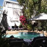 Poolside at Blackheath Lodge