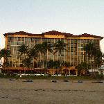 Hotel front (from beach)