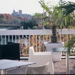 Terrasse Panoramique vue Rhône et Palais des Papes