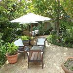 Garden courtyarf