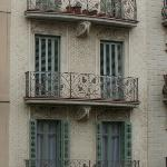 A view from a balcony - very lovely tenement