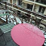 Balcon chambre 14