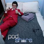 Wang Newton relaxes at PodShare