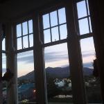 la vista dalle stanze sul parco nazionale