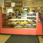 Interior of Tyler's donuts