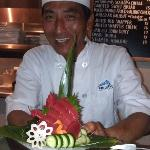 Tony-san - one of the excellent sushi chefs at Bluefin