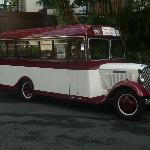 Trip out on the 1933 bus