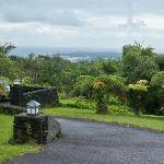 View of Hilo from the grounds of the Inn.