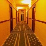 Les couloirs de l'hotel!