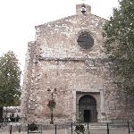 The local church in the Village square