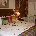 Romantc package with Prosecco
