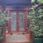 Bamboo Cottage entrance
