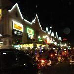 busy street of yogyakarta