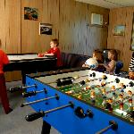 Games room is a real hit with the kids