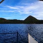 El Rio y Mar seen from the boat