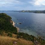 El Rio y Mar Resort seen from Hunters Peek lookout