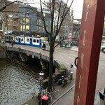 uitzicht op de hoek Prinsengracht / Leidsestraat
