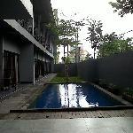 Mini swimming pool..