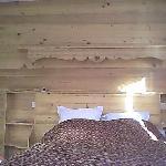 lit, tete de lit en bois