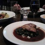 Sunday lunch: confit of duck w/ kale and bacon - super delicious