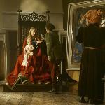 Jan Van Eyck's studio.