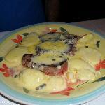Beef Tenderloins in Caper Cheese Sauce