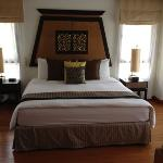 one of the rooms in 3 bedroom villa
