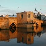 The River Great Ouse - St.Ives Bridge