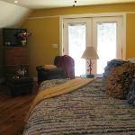 Pinkham Barn Suite with origianl wide pine board floors