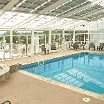 Indoor, seasonally heated pool