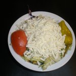Medium Italian Tossed Salad with homemade italian dressing