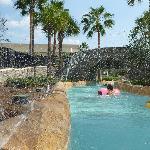 Water Fountains as your go around the lazy river