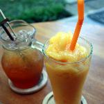 lovely mango smoothie