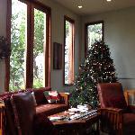 The Great Room Christmas tree