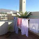 my laundry, drying in the desert air on our rooftop