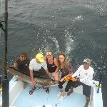 Fishing off Quepos\ Blue Fin II