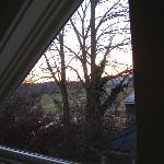 The view from one of the windows in the bathroom (Surray)