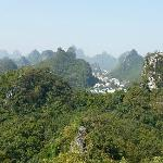 Beautiful Hills around Guilin