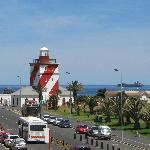 Green Point Lighthouse from balcony