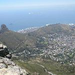 Lions Head and Signal Hill from Table Mountain