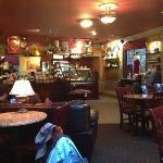 cozy interior of Bella Espresso.