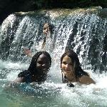 Best time ever at waterfalls!