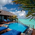 Presidential Water Suite at Olhuveli Maldives
