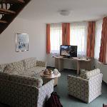 Le salon dans la chambre-appartement