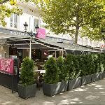 Vue extérieurs du restaurant - Les allées Provençale