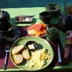 Petit-déjeuner... très petit !